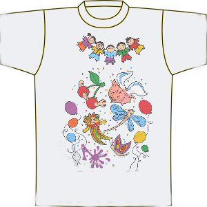 Halász Judit - Csiribiri (gyermek méretű) póló
