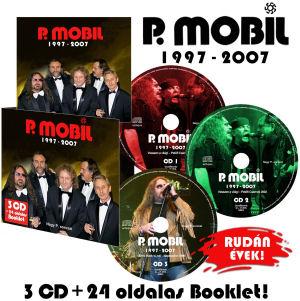 P. Mobil - 1997-2007 - Nagy P. sorozat (Rudán évek) 3CD+24 oldalas Booklet