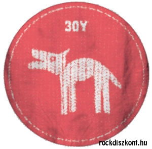 30Y Felvasalható embléma (Farkas)