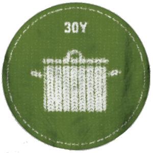 30Y Felvasalható embléma (Lábas)