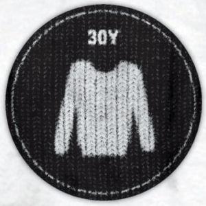 30Y Felvasalható embléma (Pulcsi)