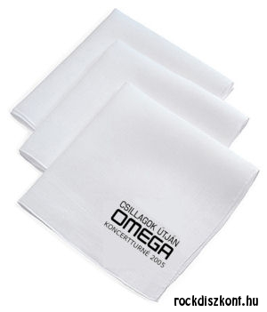 Omega - Csillagok útján - Koncertturné 2005 - Kendő (fehér)