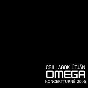 Omega - Csillagok útján - Koncertturné 2005 - Kendő (fekete)