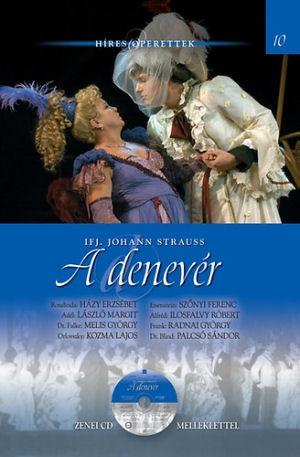 Híres Operettek 10. -  ifj. Johann Strauss: A denevér - könyv CD melléklettel