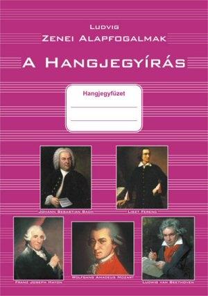 A Hangjegyírás - Hangjegyfüzet - Zenei alapfogalmak