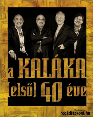 A Kaláka (első) 40 éve - könyv DVD melléklettel