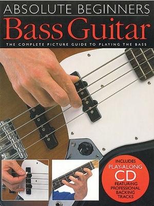 Absolute Beginners Bass Guitar - Oktató kottás könyv + CD