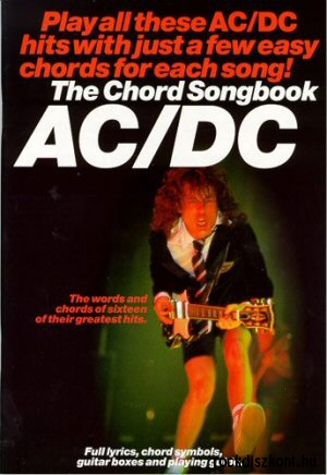 AC/DC - Chord Songbook (Lyrics & Chords, with chord symbols)