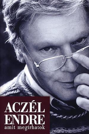 Aczél Endre: Amit megírhatok - könyv