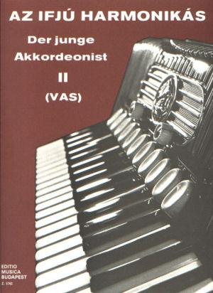 Az ifjú harmonikás II. - kotta
