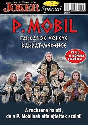 P.  Mobil - Farkasok völgye Kárpát-medence (kartontokos) CD+Joker Special magazin P.Mobil különszám