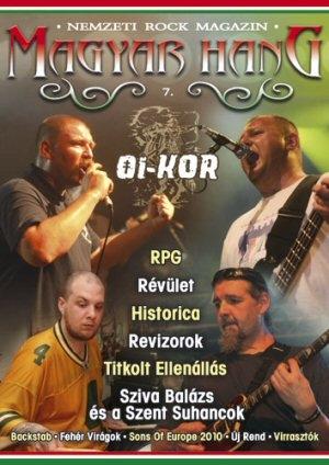 Magyar Hang - Nemzeti Rock Magazin 7. - újság