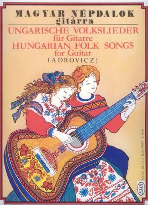 Adrovitz István: Magyar népdalok gitárra - kotta