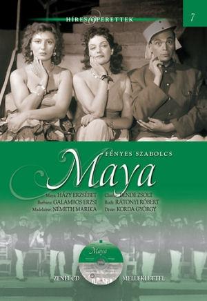 Híres Operettek 7. -  Fényes Szabolcs: Maya - könyv CD melléklettel
