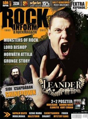 Rockinform a Rockmagazin - XX/190. szám - Rock Diszkont kuponnal