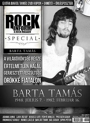 Barta Tamás - Rockinform Special újság + ajándék óriásposzterrel, DVD borítóval és kuponnal