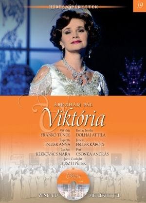 Híres operettek sorozat 19. - Ábrahám Pál: Viktória - könyv CD melléklettel