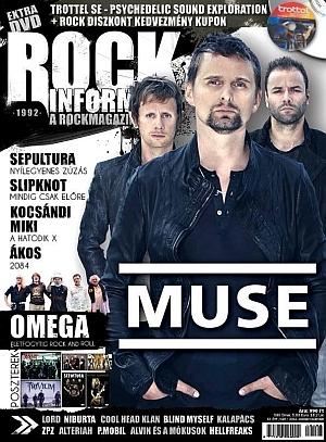 Rockinform a Rockmagazin - XX/193. szám - Trottel SE: Embryo Live DVD-melléklettel