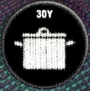 30Y kitűző (Lábas)