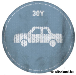 30Y Felvasalható embléma (Autó)
