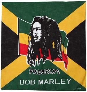 Bob Marley: Freedom - Vászon kendő
