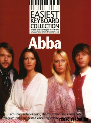 ABBA - Easiest Keyboard Collection (Melody line and lyrics with chord symbols) kotta