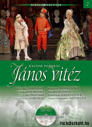 Híres Operettek 2. - Kacsóh Pongrác: János Vitéz - könyv CD melléklettel