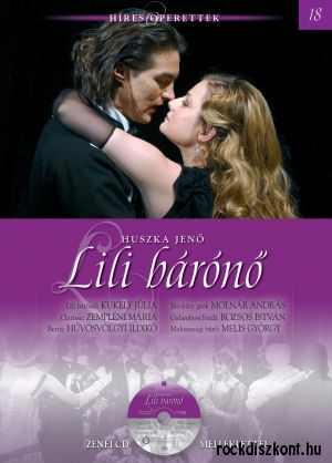 Híres operettek sorozat 18. - Huszka Jenő: Lili bárónő - könyv CD melléklettel