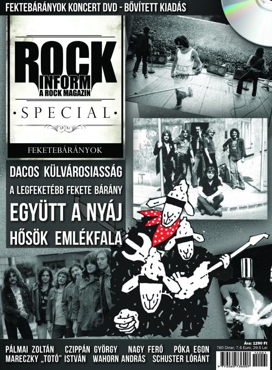 Fekete Bárányok 1980 (bővített kiadás) DVD + Rockinform Special újság + poszter