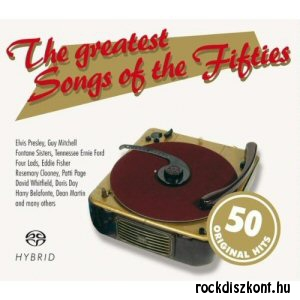 50 Original Hits - The Greatest Songs Of The 50s - 2SACD