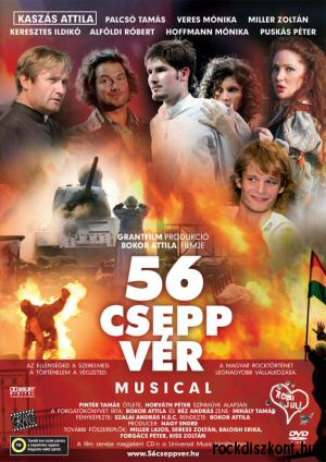 56 csepp vér - rock-musical DVD