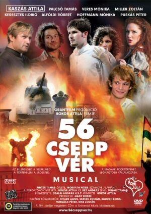 56 csepp vér - rock-musical DVD