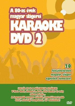 A 80-AS évek magyar slágerei - Karaoke 2. DVD