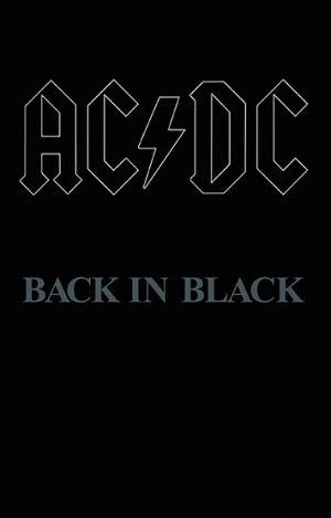 AC/DC - Back in Black - (Cassette) kazetta