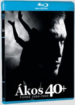 Ákos - 40+ BD (Blu-ray Disc)