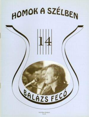 Balázs Fecó - Homok a szélben - kotta