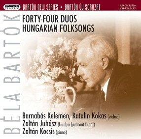Bartók Béla - 44 Duos + Hungarian Folksongs SACD