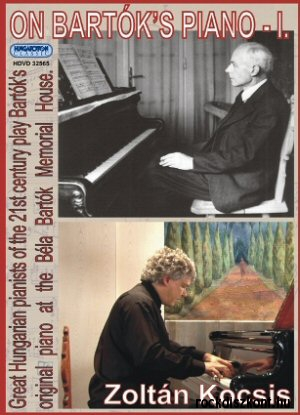 Bartók zongoráján I. DVD
