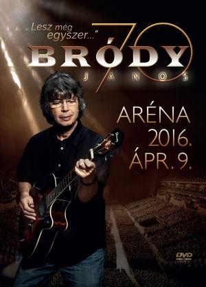 Bródy János - Lesz még egyszer... - Aréna 2016. április 9. DVD+2CD