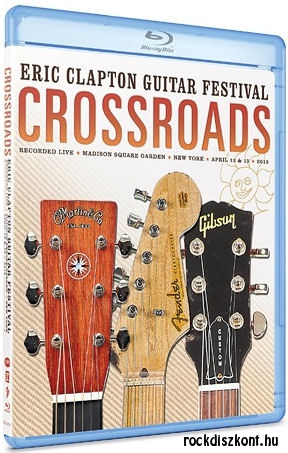 Eric Clapton Guitar Festival - Crossroads - Madison Square Garden 2013 2BD (Blu-ray Disc)