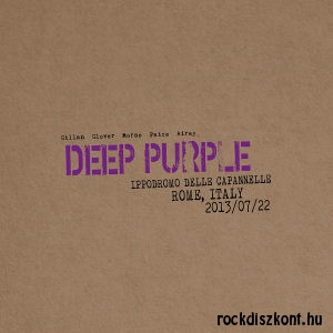 Deep Purple - Live in Rome 2013/07/22 - Ippodromo Delle Capannelle Italy 2CD