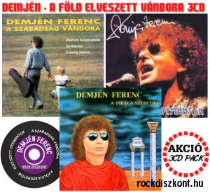 Demjén Ferenc - A Föld elveszett vándora - 3CD Pack Akció
