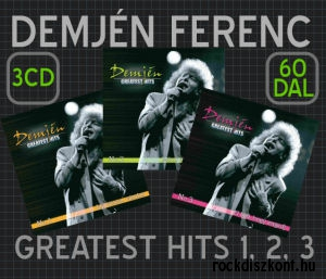 Demjén Ferenc - Greatest Hits No. 1-3. - 3CD Pack