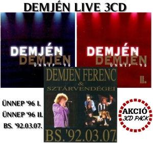 Demjén Ferenc - Live 3CD Pack Akció