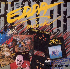 Edda Művek - Best of 80-90 (1993 remaster) (Edda 11) CD