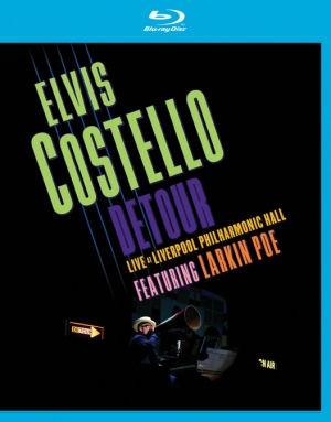 Elvis Costello - Detour - Live At Liverpool Philharmonic Hall - Featuring Larkin Poe (Blu-ray)