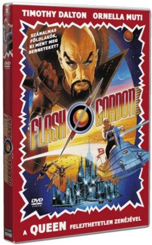 Flash Gordon (Timothy Dalton, Ornella Muti) - A Queen felejthetetlen zenéjével DVD