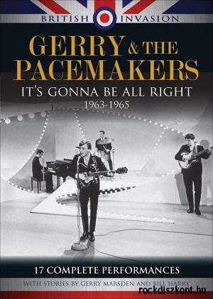 Gerry & the Pacemakers - It's Gonna Be Alright 1963-1965 - 17 Complete Performances DVD