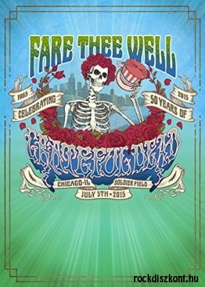 Grateful Dead - The Best of Fare Thee Well: 1965-2015 Celebrating 50 Years of the Grateful Dead 2DVD