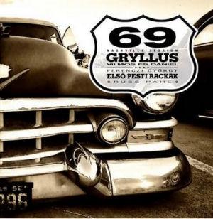 Gryllus Vilmos & Dániel feat: Ferenczi György Első Pesti Rackák, Russ Pahl - 69 Nashville Session CD